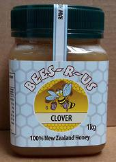 1kg Raw Clover Honey