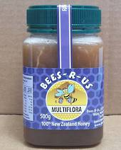 500g Raw Multifloral Honey
