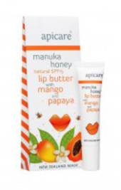 Apicare Manuka Honey Lip butter with Mango and Papaya