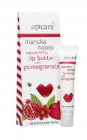 Apicare Manuka Honey Lip butter with Pomegranate